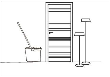как мыть двери